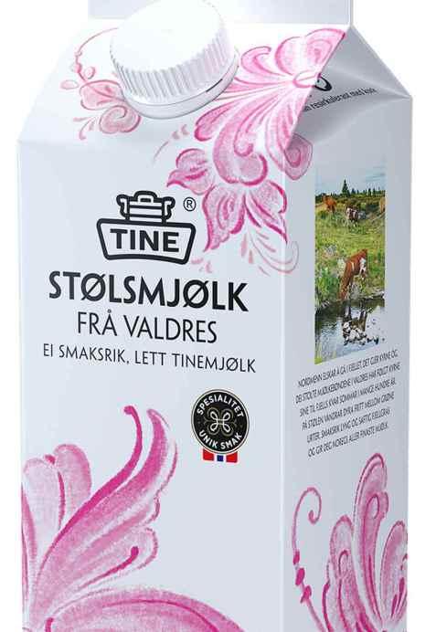 Bilde av TINE Stølsmjølk frå Valdres.