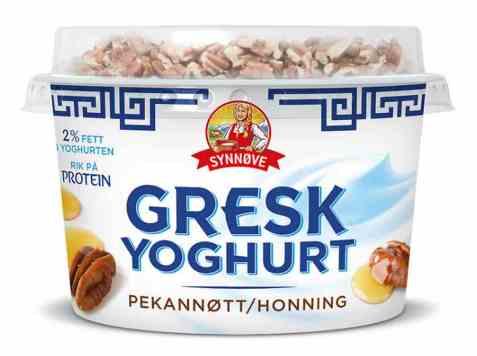 Bilde av Synnøve gresk yoghurt pekannøtter og honning.