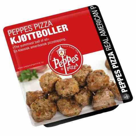 Bilde av Peppes Kjøttboller.