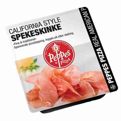 Bilde av Peppes California Style Spekeskinke.