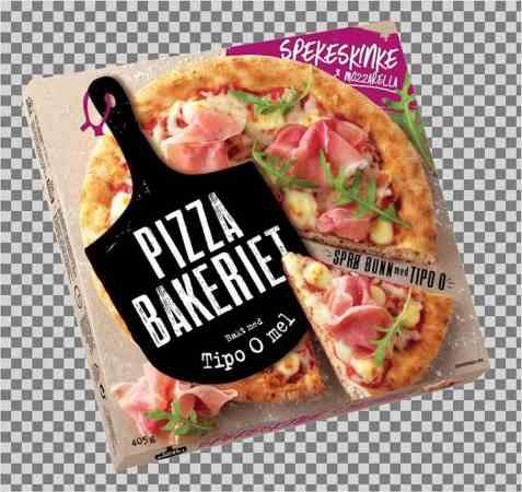 Bilde av Pizzabakeriet spekeskinke.