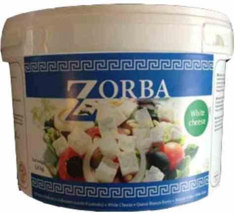 Bilde av Zorba salatost i terninger.