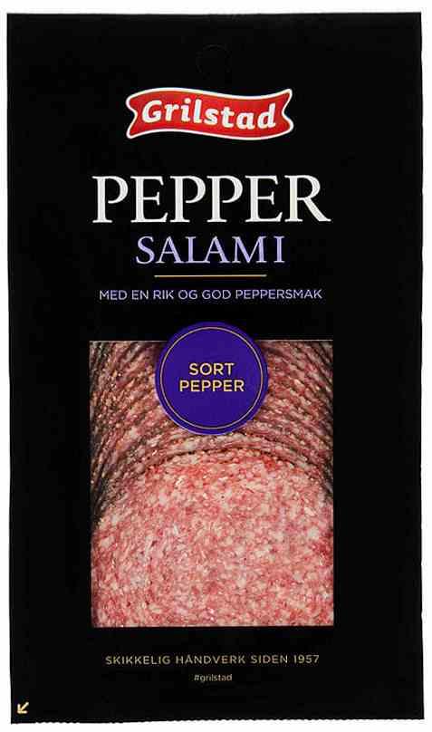 Bilde av Grilstad pepper salami.