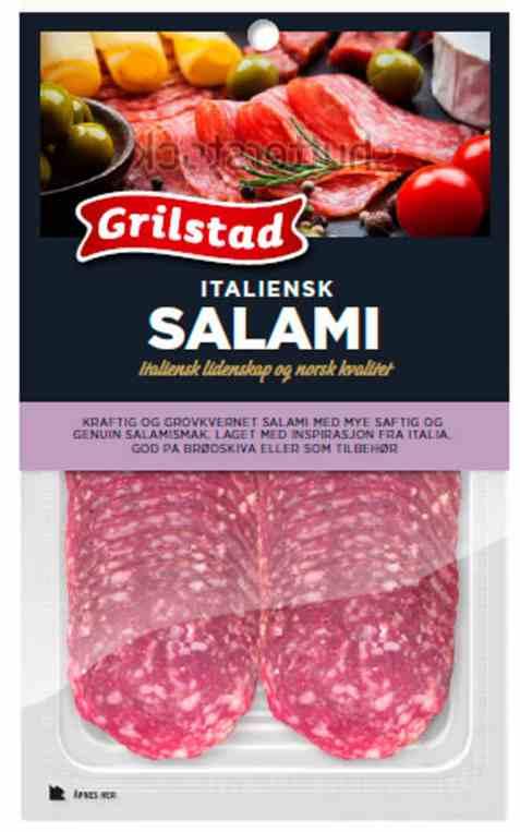 Bilde av Grilstad salami italiana.