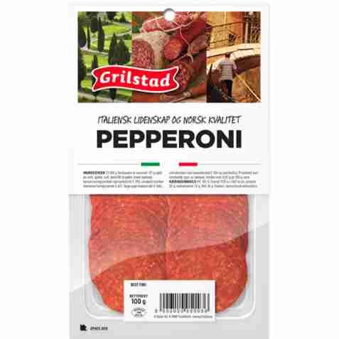 Bilde av Grilstad pepperoni.