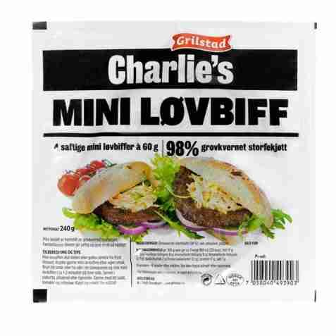 Bilde av Grilstad charlies mini løvbiff.