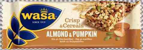 Bilde av Wasa Crisp & Cereals mandel og gresskar.