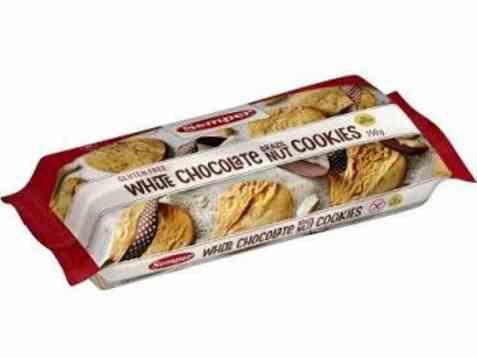 Bilde av Semper hvit sjokolade og brazil nøttecookies.