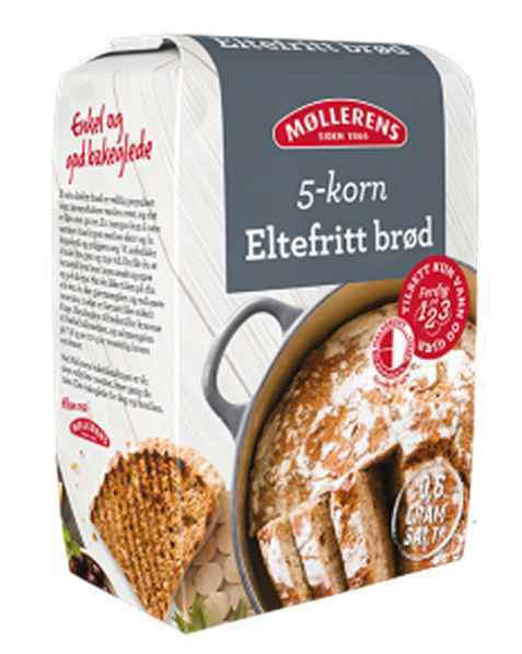 Bilde av Møllerens eltefritt 5 kornbrød.