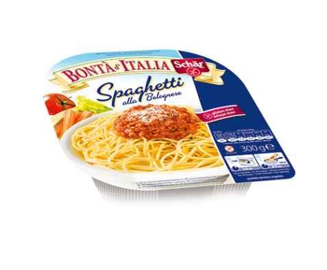 Bilde av DrSchär Spaghetti Bolognese.