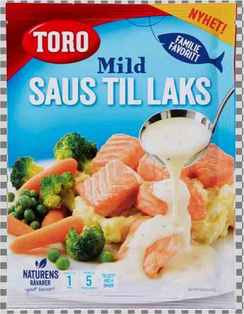 Bilde av Toro mild saus til laks.