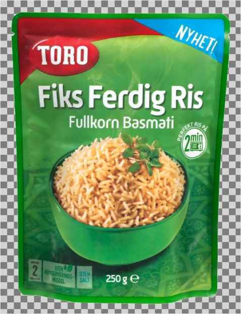 Bilde av Toro fiks ferdig ris fullkorn.