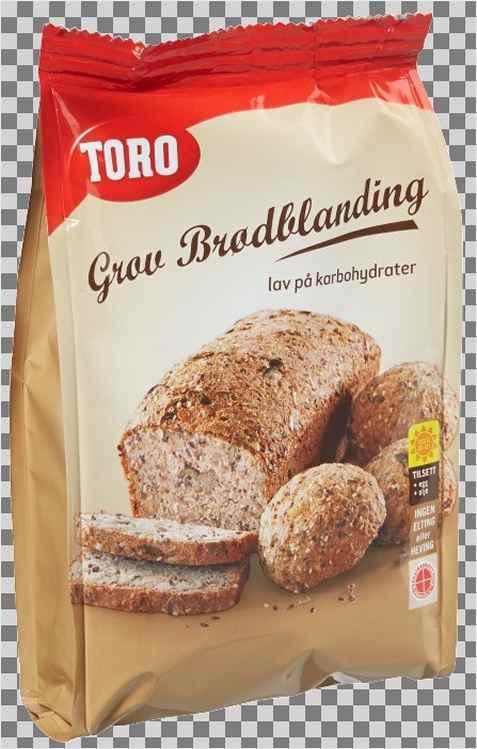 Bilde av Toro ekstra grov brødblanding.