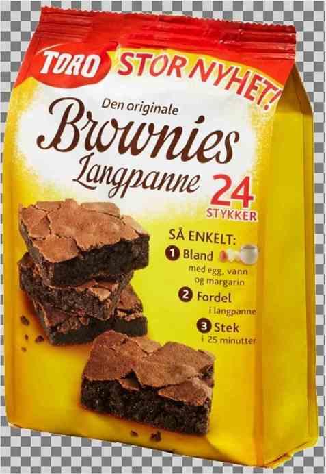 Bilde av Toro brownies langpanne.