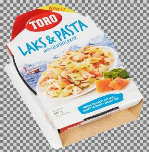 Bilde av Toro laks og pasta ferdigrett.