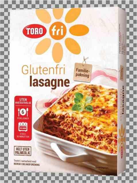 Bilde av Toro glutenfri lasagne.