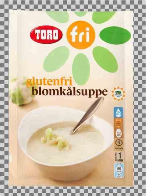 Bilde av Toro glutenfri blomkålsuppe.
