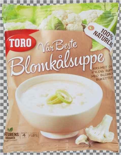 Bilde av Toro vår beste blomkålsuppe.
