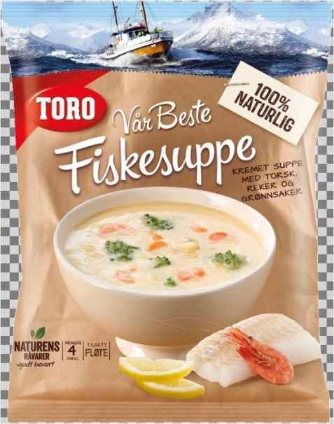Bilde av Toro vår beste fiskesuppe.