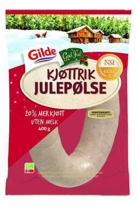 Bilde av Gilde julepølse kjøttrik.
