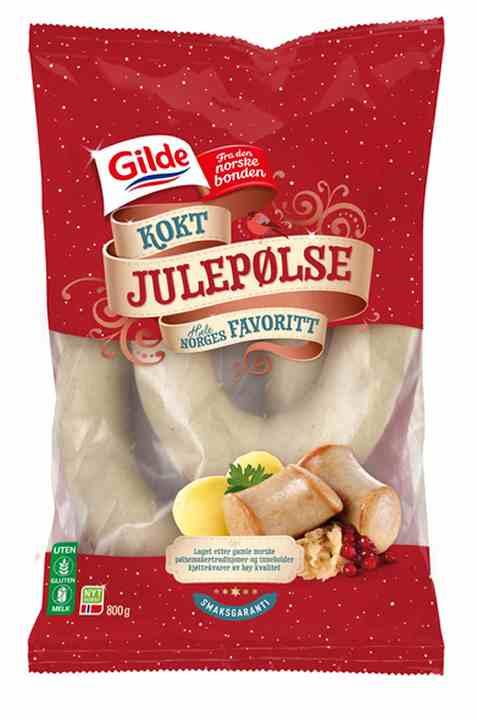 Bilde av Gilde julepølse kokt 800gr.