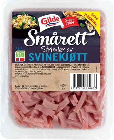 Bilde av Gilde Smårettstrimler av svinekjøtt.