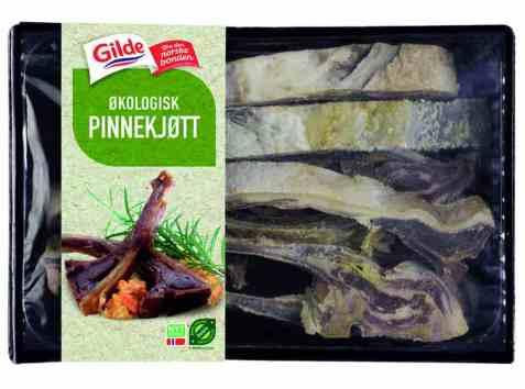 Bilde av Gilde økologisk pinnekjøtt.