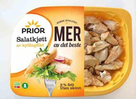 Bilde av Prior mer salatkjøtt kylling.