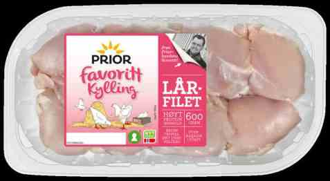 Bilde av Prior lårfilet kylling.