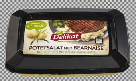 Bilde av Delikat potetsalat med bearnaise.