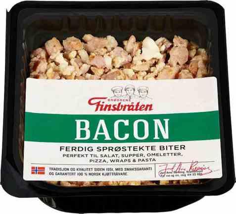Bilde av Finsbråten stekt bacon.