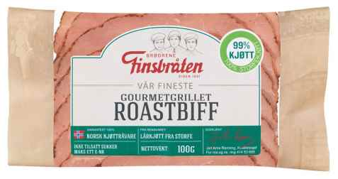 Bilde av Finsbråten Gourmetgrillet roastbiff.