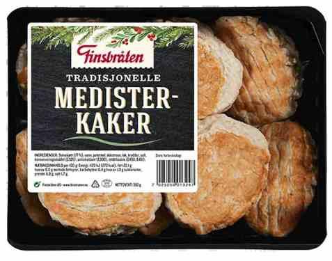 Bilde av Finsbråten medisterkaker.