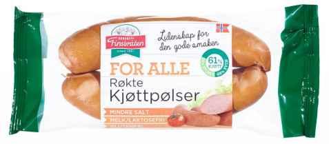 Bilde av Finsbråten for alle røkte kjøttpølser.
