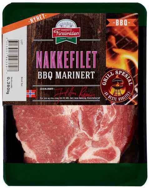 Bilde av Finsbråten BBQ nakkefilet marinert rå.
