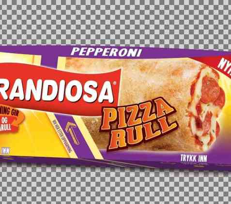 Bilde av Grandiosa pizzarull pepperoni.