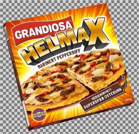 Bilde av Grandiosa helmax pepperbiff.
