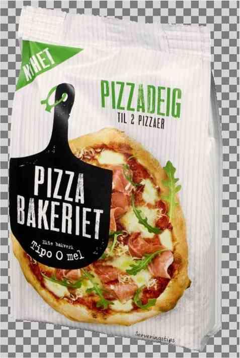 Bilde av Pizzabakeriet pizzadeig 200g.