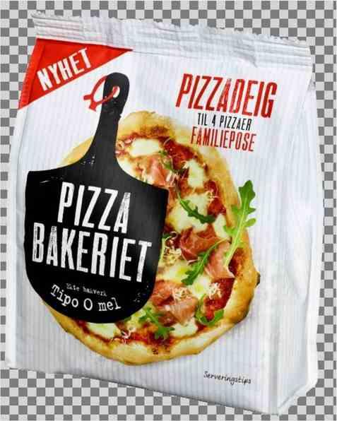 Bilde av Pizzabakeriet pizzadeig 400g.