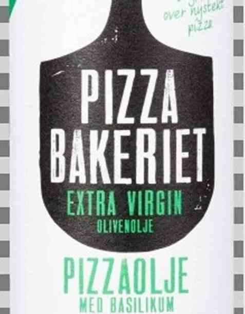 Bilde av Pizzabakeriet pizzaolje med basilikum.