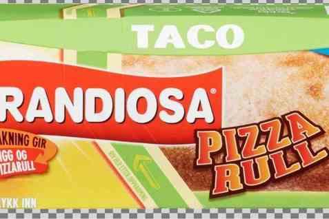 Bilde av Grandiosa pizzarull taco.