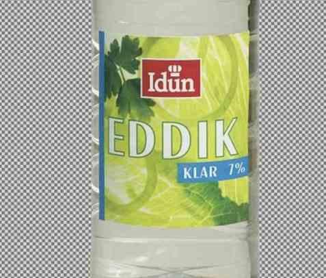 Bilde av Idun eddik klar 7 prosent.