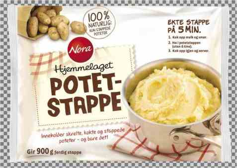 Bilde av Nora potetstappe.