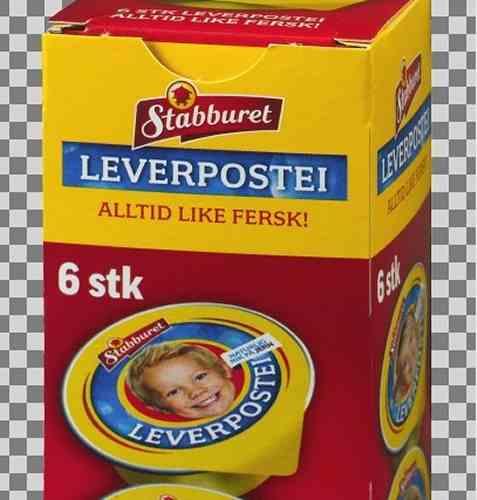 Bilde av Stabburet Leverpostei porsjonsbeger.