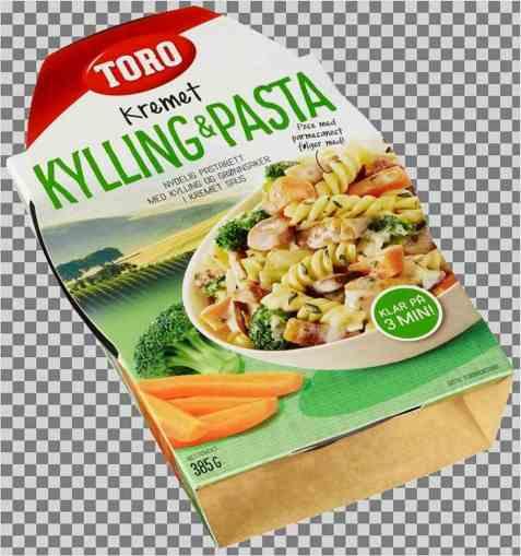 Bilde av Toro kremet kylling og pasta.