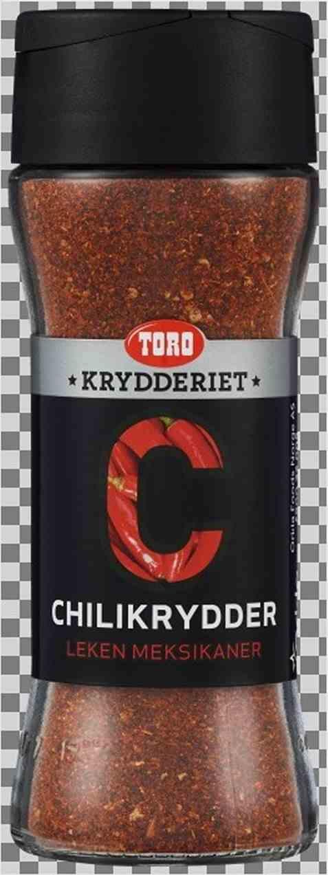 Bilde av Toro krydderiet chilipulver.