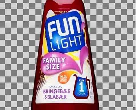 Bilde av Fun Light Bringebær blåbær.