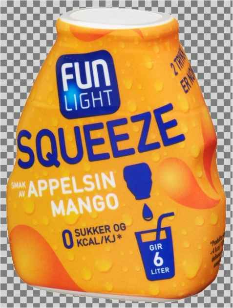 Bilde av Fun Light squeeze appelsin.