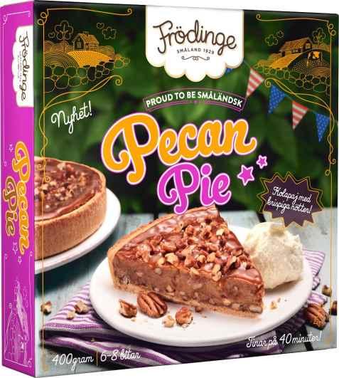 Bilde av Frødinge pecan pie.