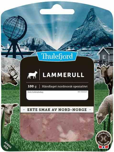 Bilde av Thulefjord Kokt lammerull i skiver.